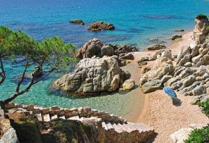 Platja d´Aro une des plus belles plages de Costa Brava