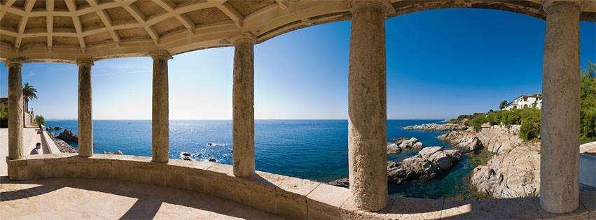 Camino de Ronda sur la Costa Brava en Espagne