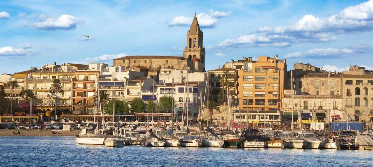 Palamos ville de la Costa Brava en Espagne