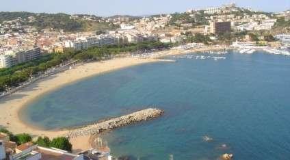 Plages de Sant Feliu de Guixols sur la Costa Brava