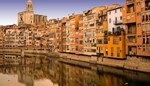 Ville de Gérone en Catalogne Espagne