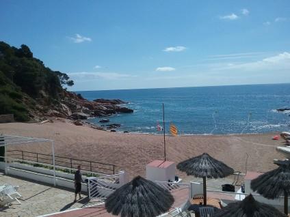 Cala de Tossa de Mar sur Costa Brava Espagne
