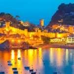 Tossa de Mar ville côtière de la Costa Brava Espagne