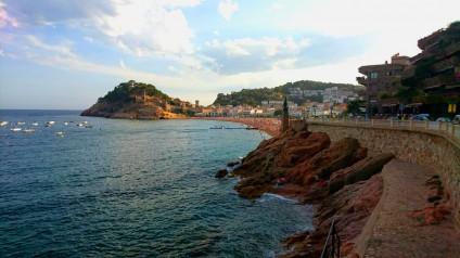 Vivre à Tossa de mar sur la Costa Brava en Espagne