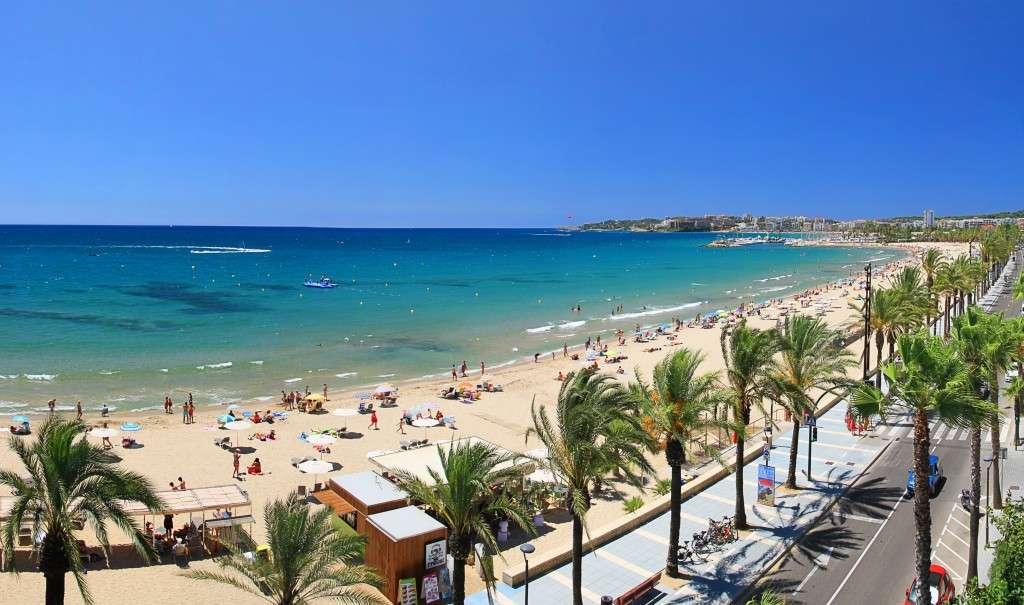 Salou ville de la Costa Daurada en Catalogne