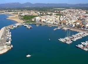 Cambrils ville de la Costa Daurada en Catalogne Espagne