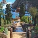 jardin botanique à Blanes Catalogne